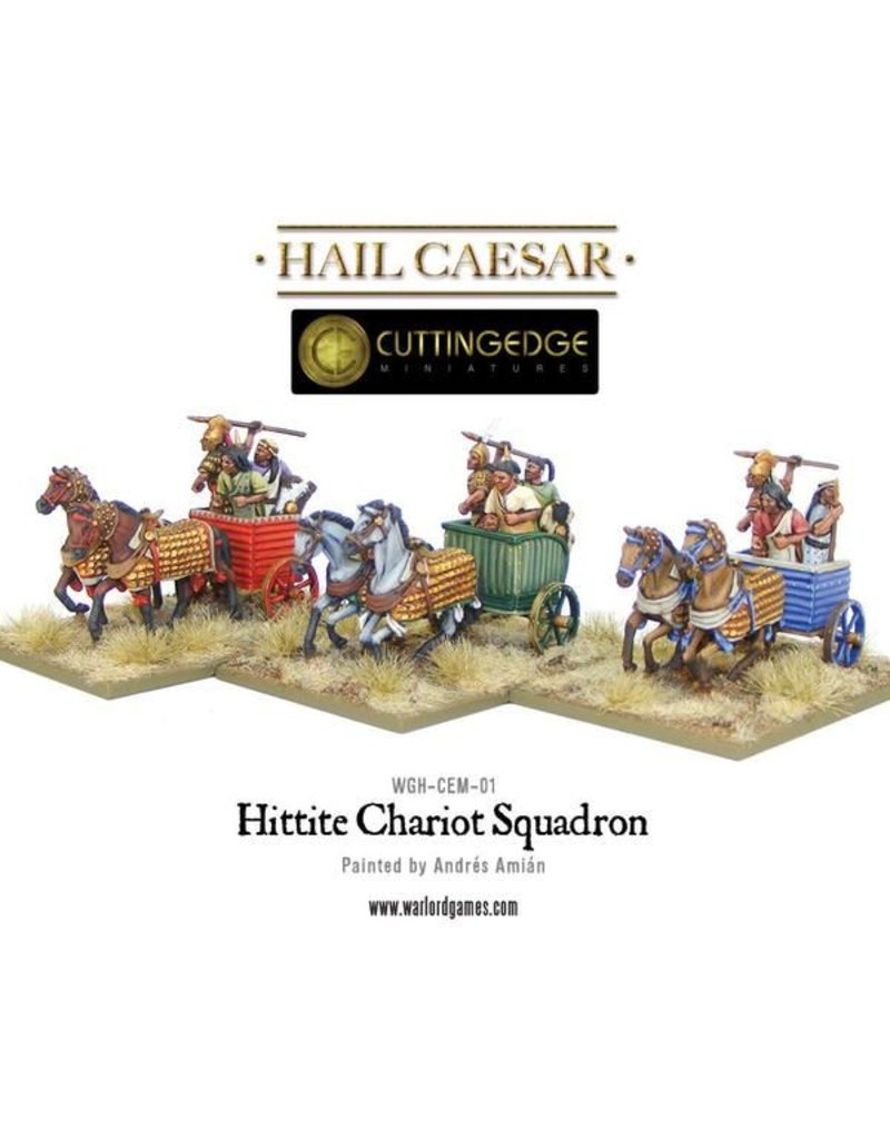 Warlord Games Bronze Age Hittite Chariot Squadron Box Set
