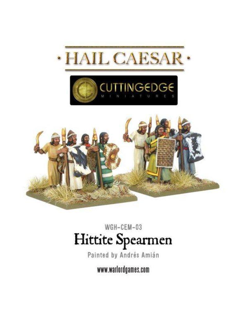 Warlord Games Bronze Age Hittite Spearmen Box Set