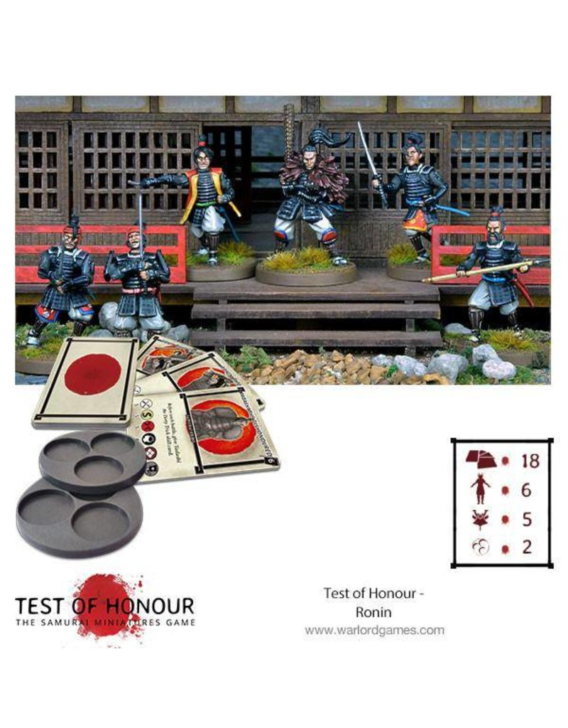 Warlord Games Test Of Honour Ronin Box Set