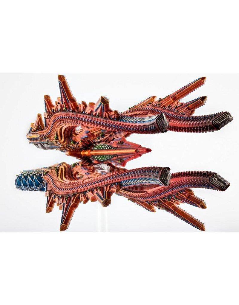 TT COMBAT Shaltari Ruby/Sapphire Class Battlecruiser pack