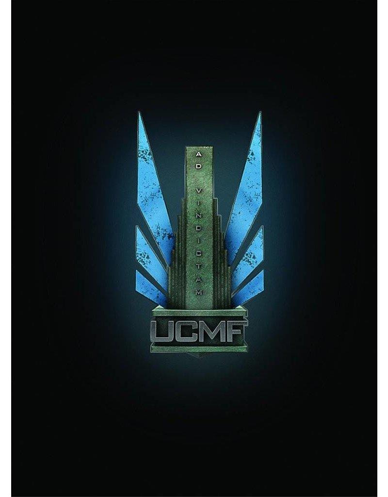 TT COMBAT Dropfleet Commander UCM Command Card Pack