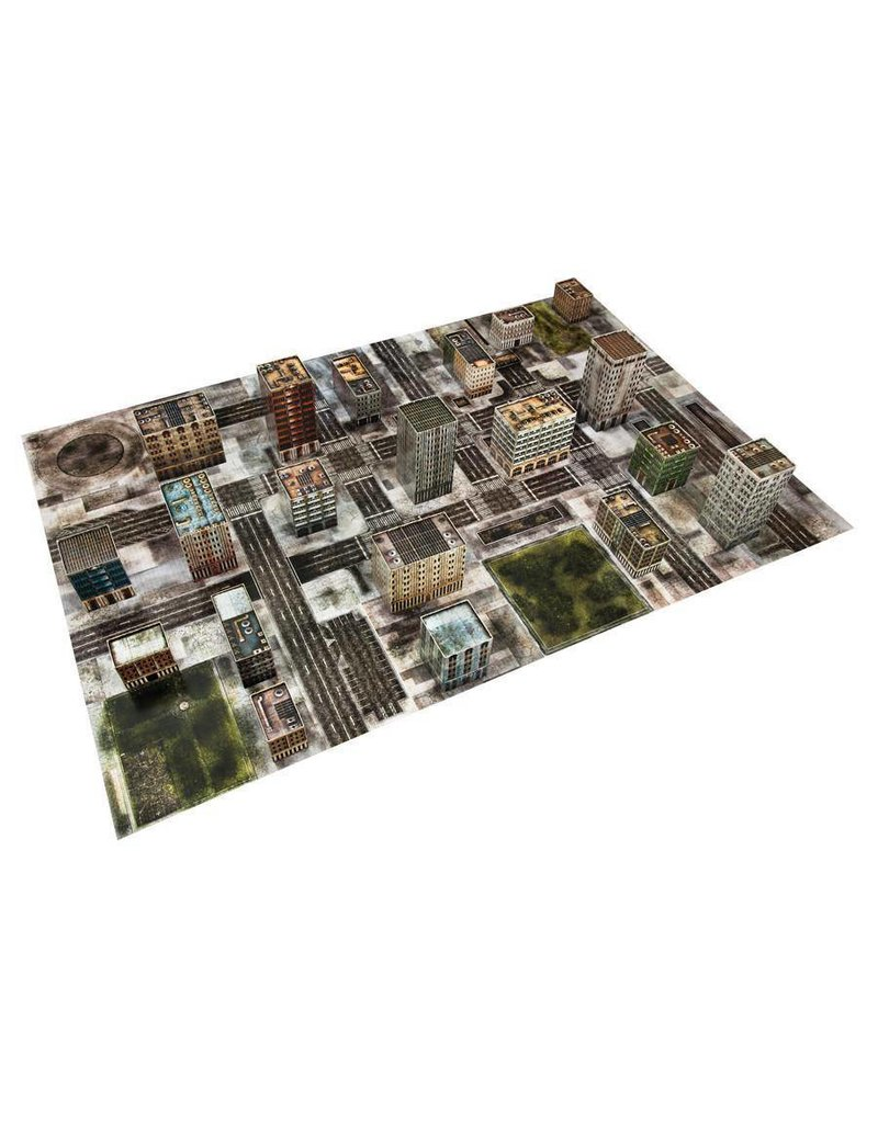 TT COMBAT Dropzone Commander Ruined Cityscape Scenery Pack