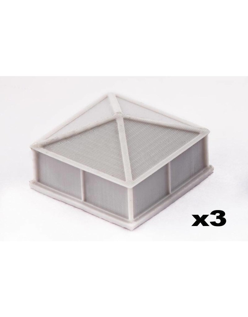 TT COMBAT Aircon Units and Ducts Scenery Pack