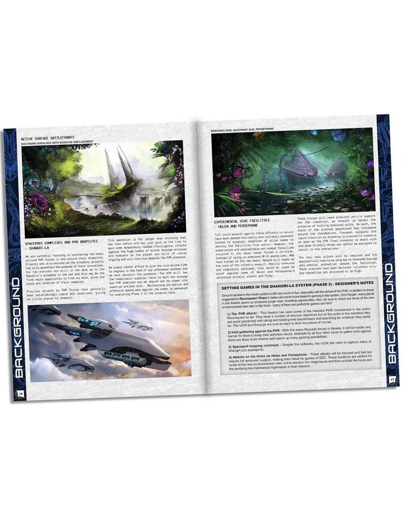 TT COMBAT Dropzone Commander Reconquest: Phase 2 Expansion Book
