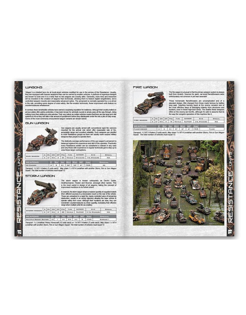 TT COMBAT Dropzone Commander Reconquest: Phase 1 Expansion Book