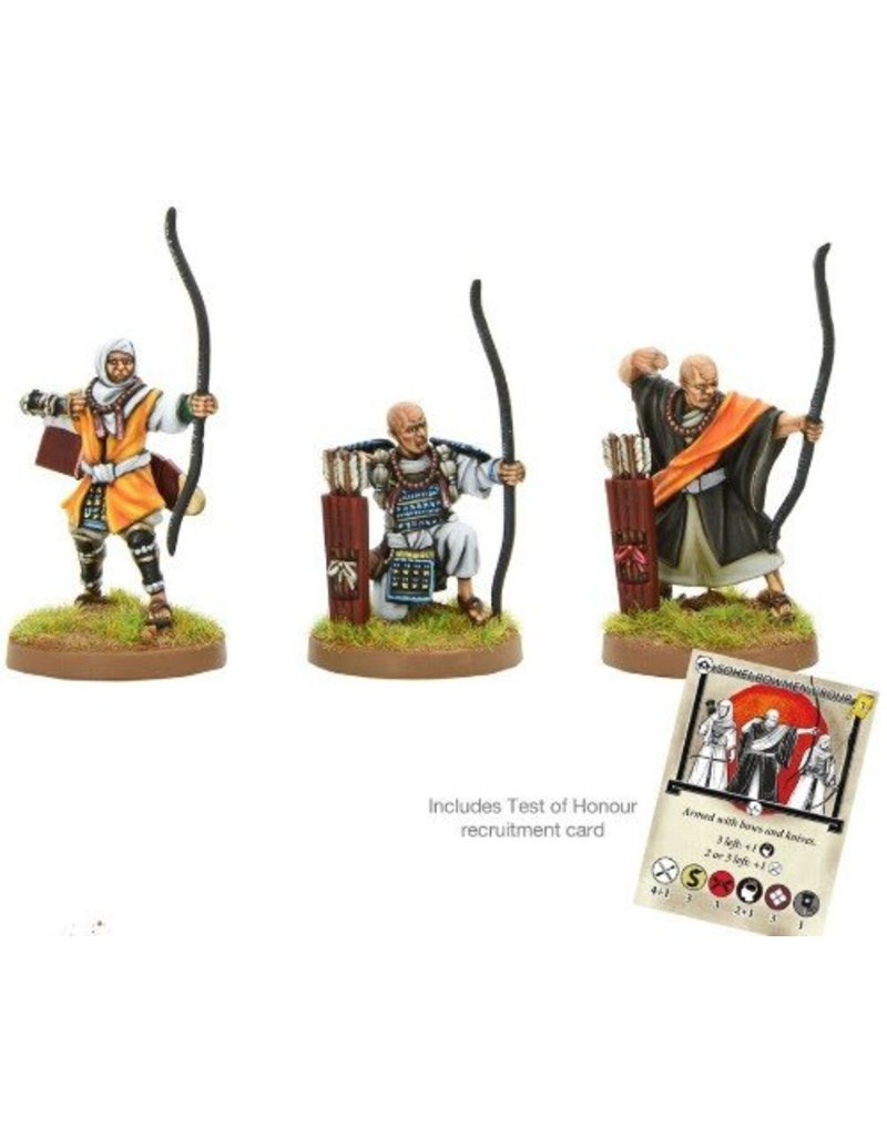 Warlord Games Sōhei Warrior Monk Archers Blister Pack