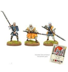 Warlord Games Sohei Warrior Monks with Naginata