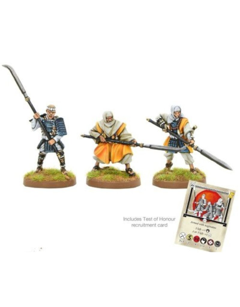 Warlord Games Sōhei Warrior Monks with Naginata Blister Pack