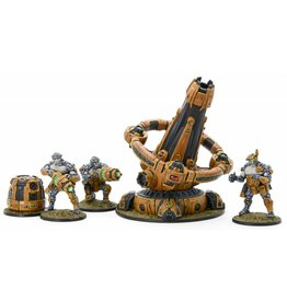 Warlord Games Boromite Heavy Support team with X-Howitzer