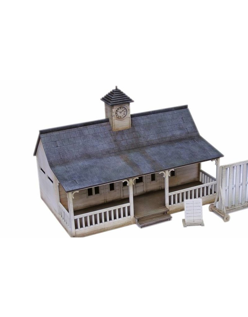 Warlord Games Cricket Pavilion MDF Scenery Set