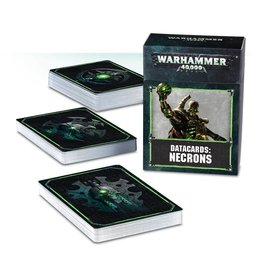 Games Workshop Datacards: Necrons (8th Edition)