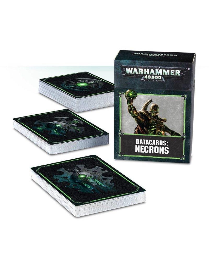 Games Workshop Datacards: Necrons (8th Edition) (EN)