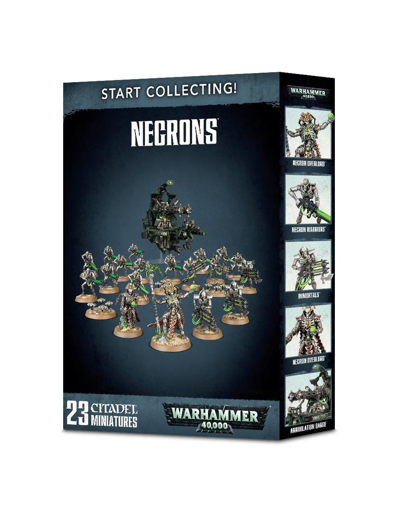 Games Workshop Start Collecting! Necrons Box Set