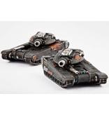 TT COMBAT Resistance M9 Hannibal / Mehmed Siege Tank Clam Pack