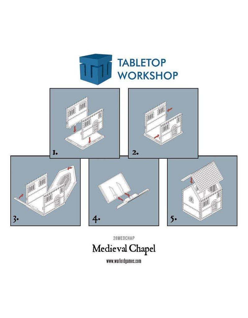 Tabletop Workshop Black Powder Medieval Chapel