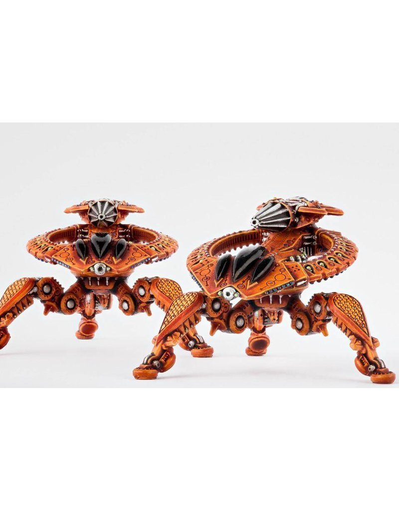 TT COMBAT Shaltari Tarantula Battle Strider Clam Pack