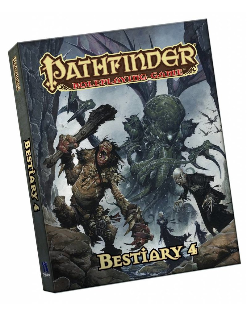 Paizo Pathfinder RPG Bestiary 4 Pocket Edition