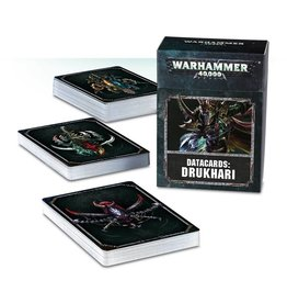 Games Workshop Datacards: Drukhari (8th Edition)
