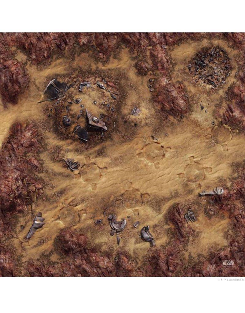 Fantasy Flight Games Star Wars: Legion Desert Junkyard Gamemat