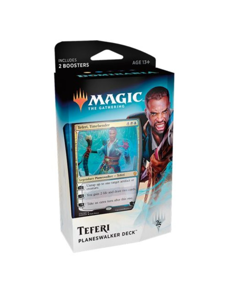 Wizards of the Coast Magic The Gathering: Dominaria Planeswalker Deck - Teferi