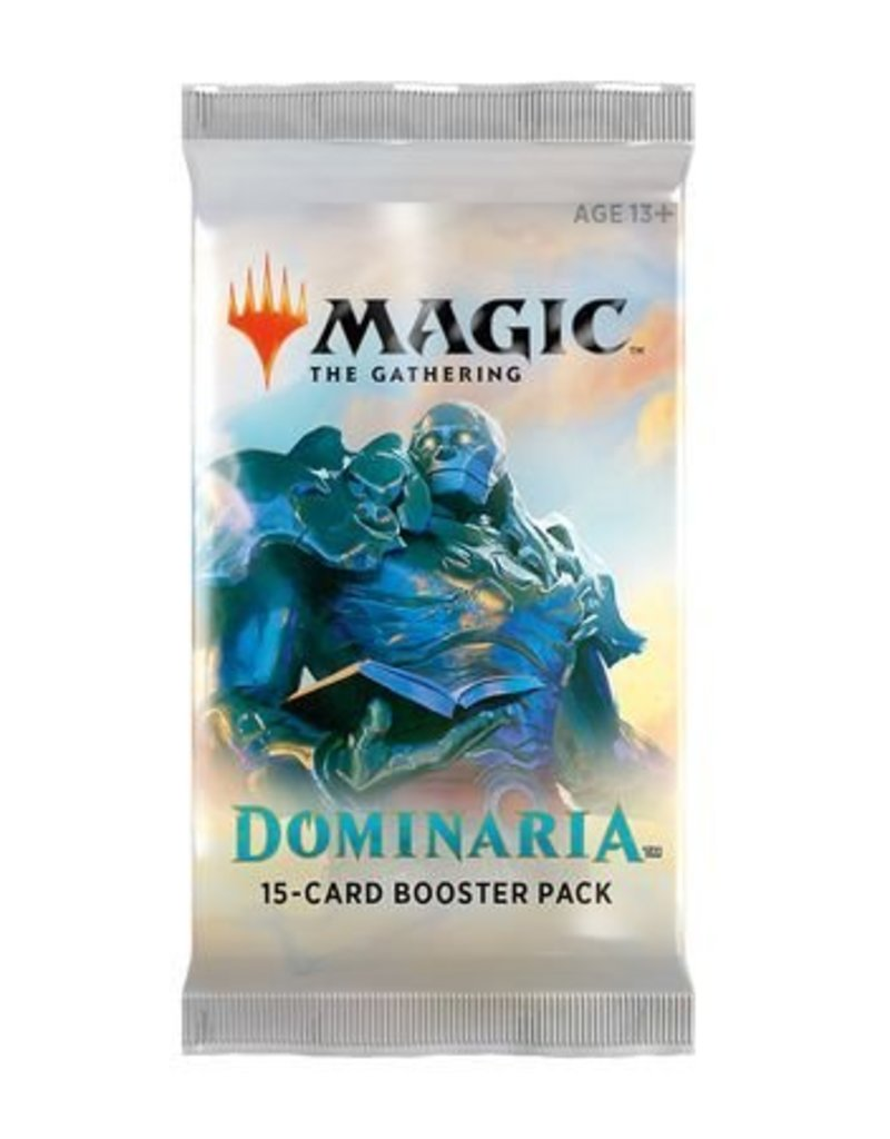 Wizards of the Coast Magic The Gathering: Dominaria Booster Pack