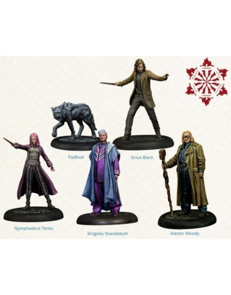 Knight Order Of The Phoenix Miniatures Pack