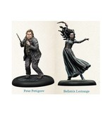 Knight Bellatrix & Wormtail Miniatures Pack