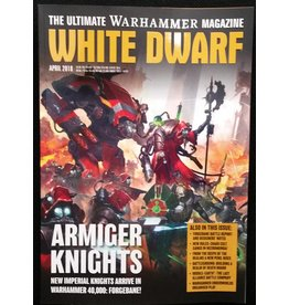 Games Workshop White Dwarf April 2018