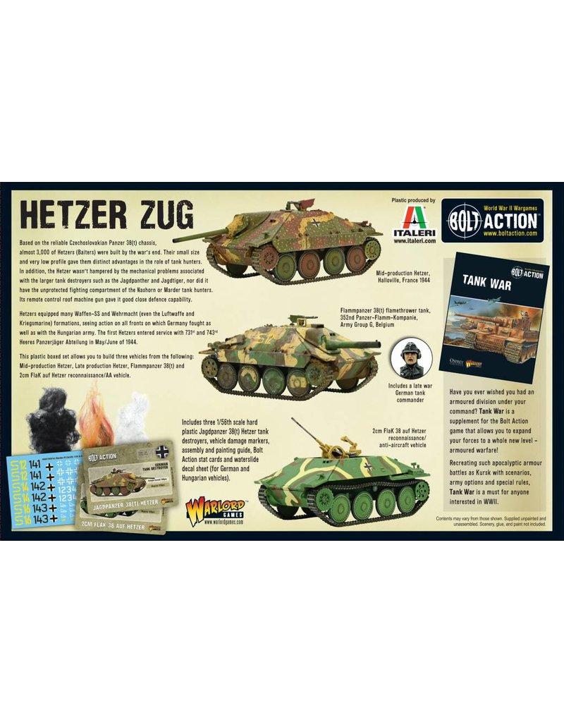 Warlord Games German Hetzer Zug Box Set