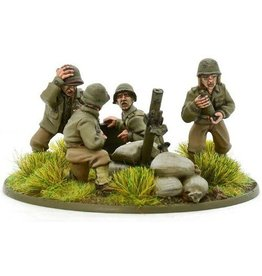 Warlord Games US Heavy Mortar Team