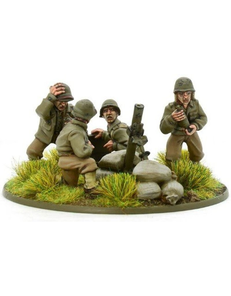 Warlord Games US Army Heavy Mortar Team Blister Pack