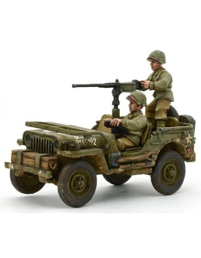Warlord Games US Army Jeep with 50 Cal HMG