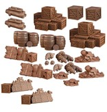 Mantic Games Terrain Crate: Dungeon Debris Plastic Scenery Box Set