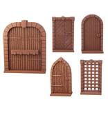 Mantic Games Terrain Crate: Dungeon Doors Plastic Scenery Box Set