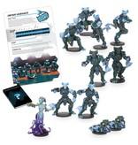 Mantic Games Sphyr Team: Nemion Oceanics Dreadball 2nd Edition Plastic Boxed Set
