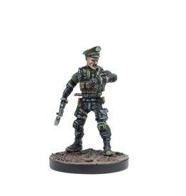 Mantic Games Lieutenant/Major Loren Chard