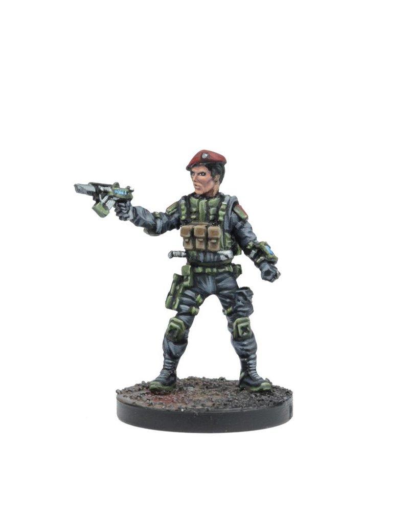 Mantic Games GCPS Lieutenant/Major Loren Chard Box Set