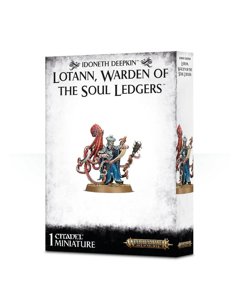 Games Workshop Idoneth Deepkin Lotann Warden Of The Soul Ledgers Pack