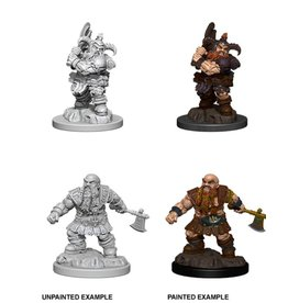 Wizkids Male Dwarf Barbarian