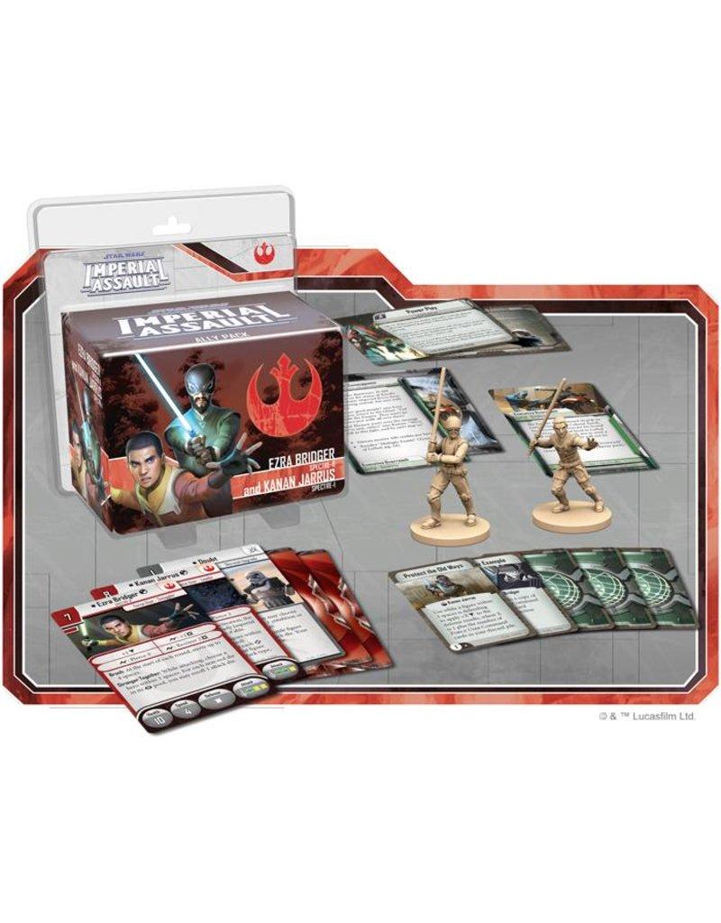 Fantasy Flight Games Star Wars Imperial Assault: Ezra Bridger and Kanan Jarrus Ally Pack