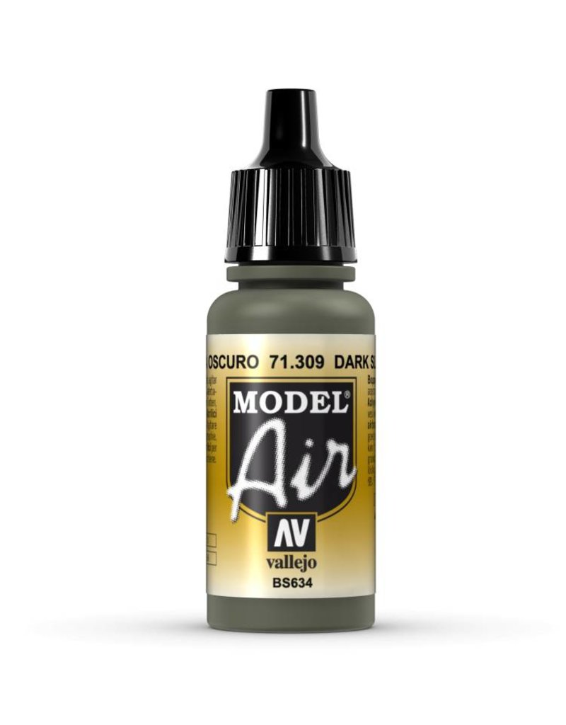 Vallejo Model Air - Dark Slate Grey 17ml