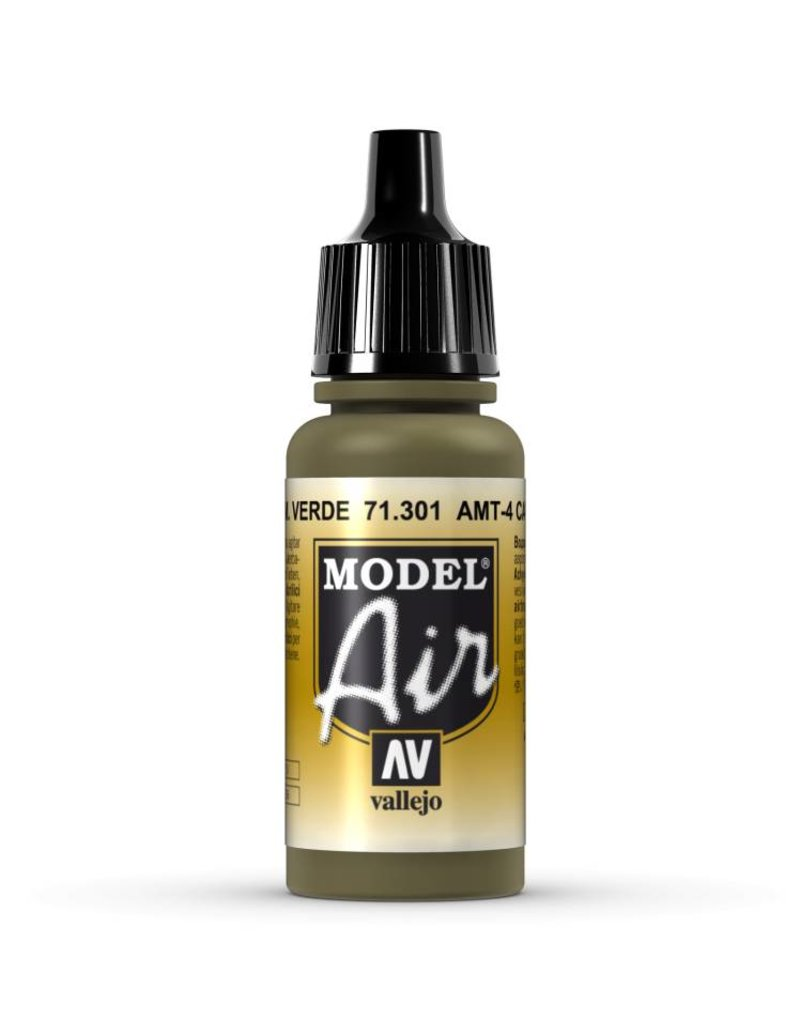 Vallejo Model Air - AMT-4 Camouflage Green 17ml