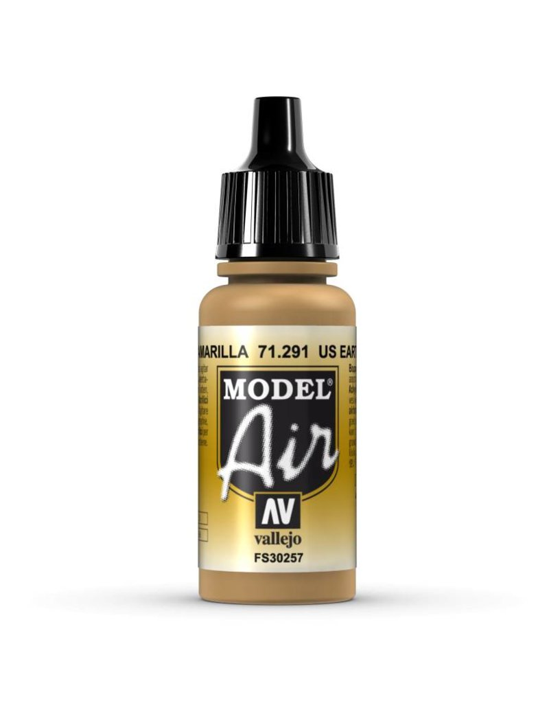 Vallejo Model Air – US Earth Yellow 17ml