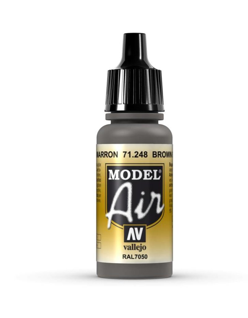 Vallejo Model Air - Brown Grey 17ml