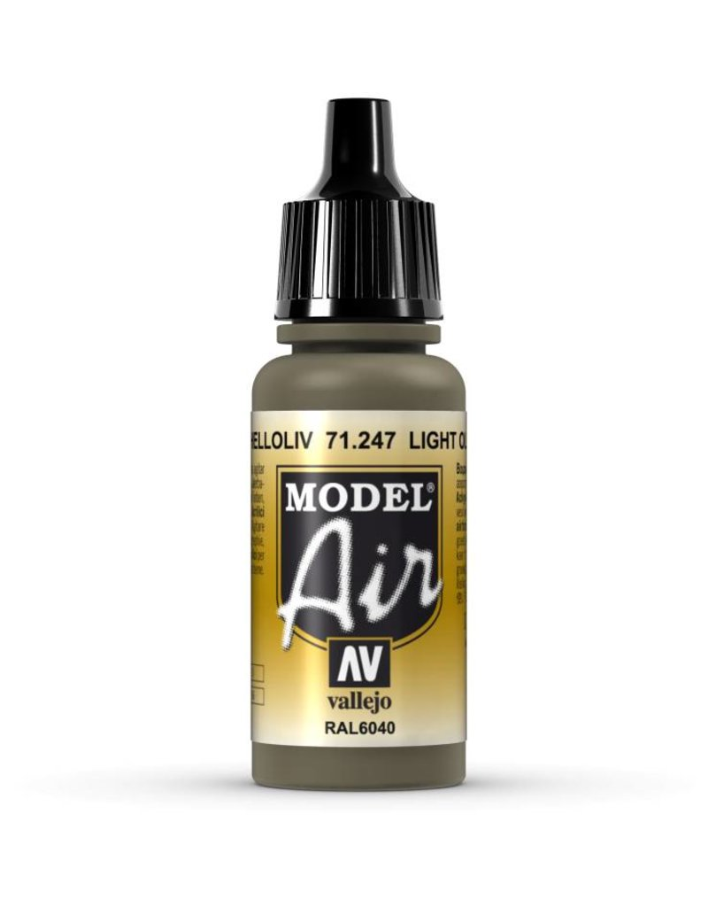Vallejo Model Air - Light Olive 17ml