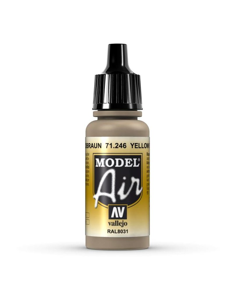 Vallejo Model Air - Yellow Brown 17ml