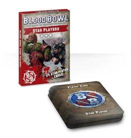 Games Workshop Blood Bowl: Star Players Card Deck