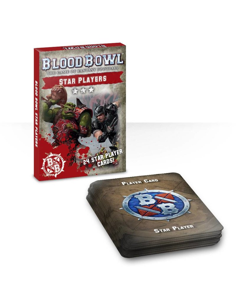 Games Workshop Blood Bowl: Star Players Card Deck (EN)