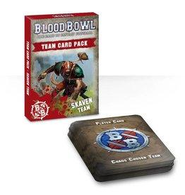 Games Workshop Skaven Team Cards
