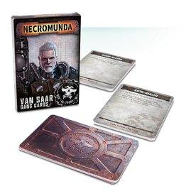 Games Workshop Van Saar Gang Cards